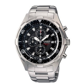 Casio Men's Stainless Steel Chronograph Watch