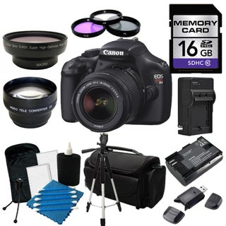 Canon EOS T3 Digital SLR Camera with 18-55mm IS II Lens Bundle
