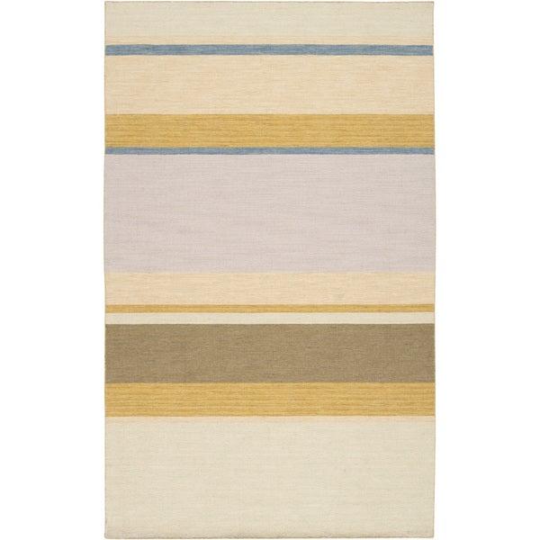 Handwoven Mosler Vanilla Wool Rug (8' x 11')