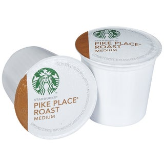 Starbucks Pike Place Roast Coffee 96 K-Cups for Keurig Brewers