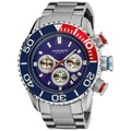 Akribos Men's Large Diver's Chronograph Bracelet Watch