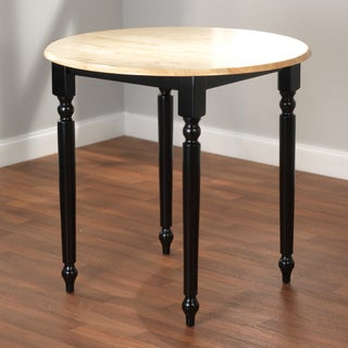Simple Living Counter Height Black/ Natural Table