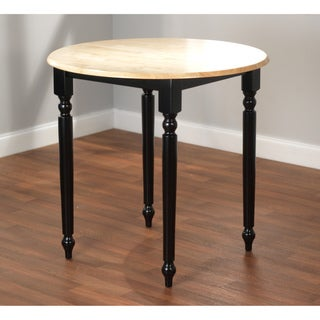 Counter Height Black/ Natural Table