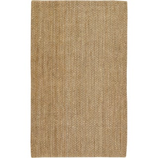 Country Living Hand-Woven Bitonto Gold Natural Fiber Jute Rug (3'6 x 5'6)