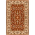 Hand-tufted Sanremo Raw Sienna Wool Rug (10' x 14')