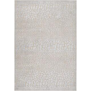 Woven Legacy Grey Animal Print Rug (8'8 x 12')