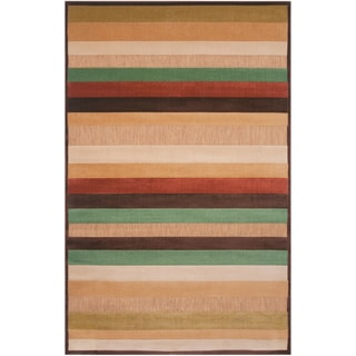 Velletri Mulitcolored Stripe Indoor/Outdoor Rug (7'10 x 10'8)