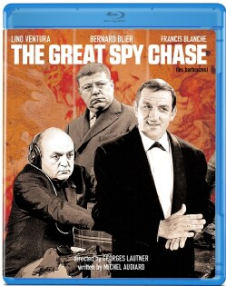 The Great Spy Chase (Blu-ray Disc)