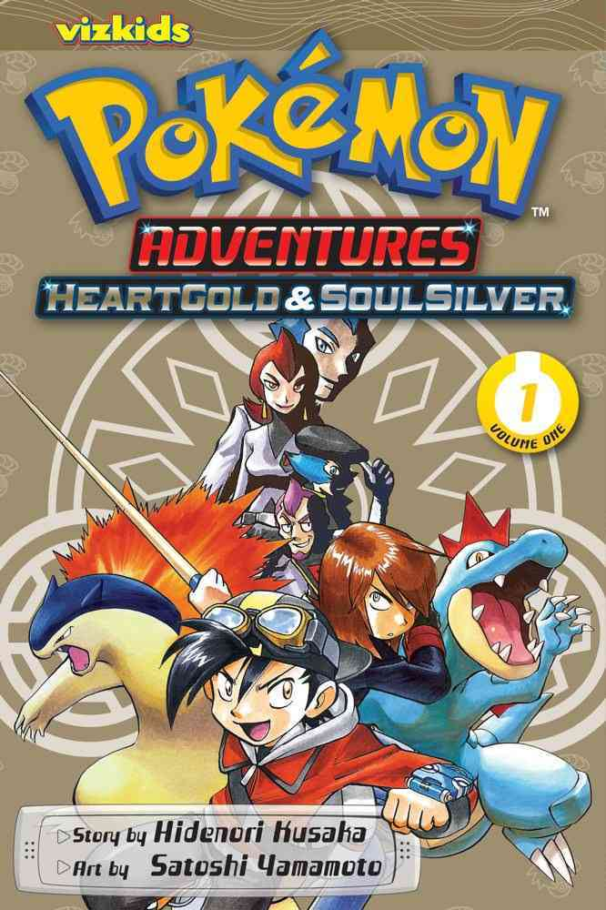 Pokemon Adventures 1: Heart Gold & Soul Silver (Paperback)
