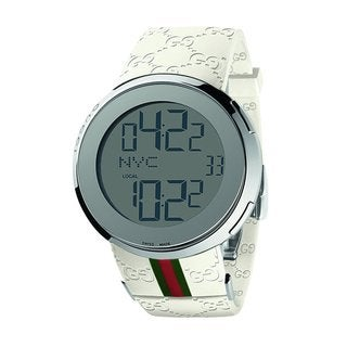 Gucci Men&#39;s Stainless Steel I-Gucci Digital Watch