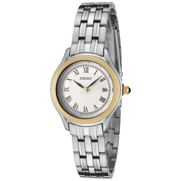 Seiko Women's Stainless Steel Analogue Watch