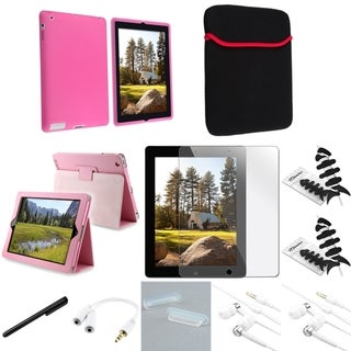 BasAcc Case/ Protector/ Splitter/ Headset/ Sleeve for Apple iPad 3