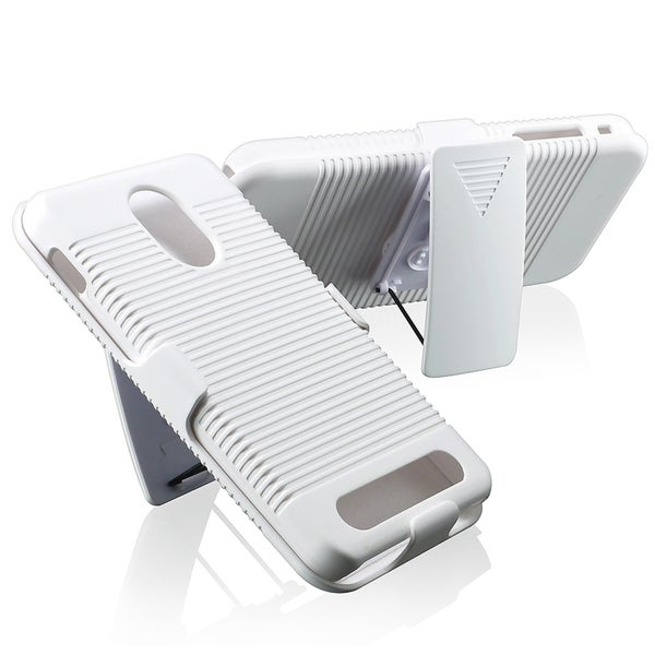 BasAcc White Holster Case for Samsung Epic 4G Touch D710