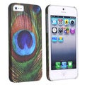 BasAcc Peacock Feathers Rear Snap-on Case for Apple iPhone 5/ 5S