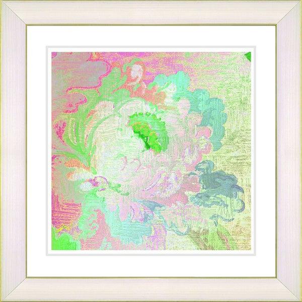 Studio Works Modern 'Iphigenia Pastel - Green' Framed Print