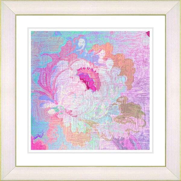 Studio Works Modern 'Iphigenia Pastel - Pink' Framed Print