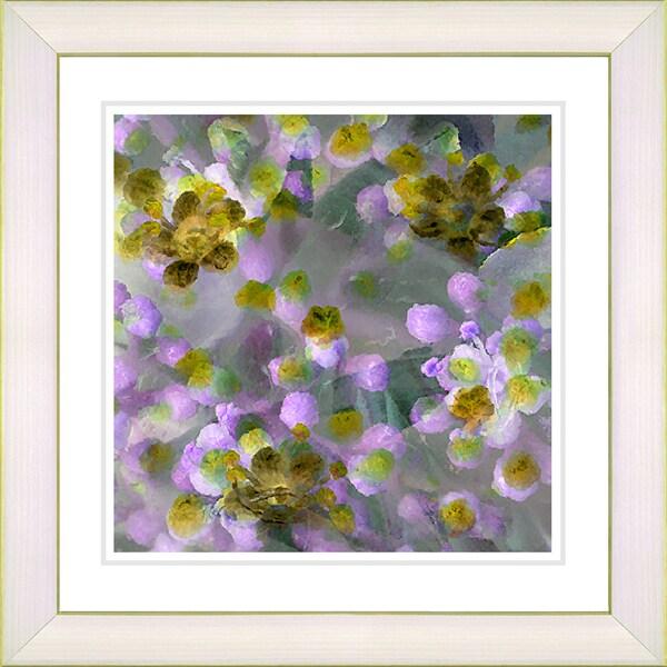Studio Works Modern 'Popcorn Floral - Pink' Framed Print