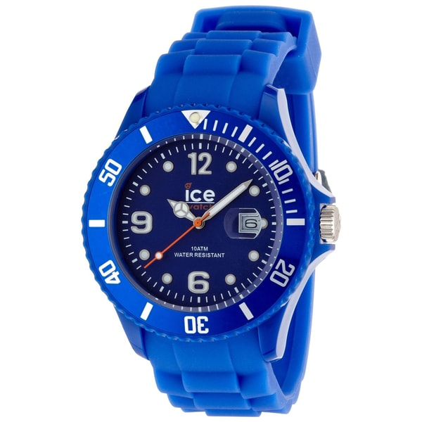 Ice Watch Men's Sili Collection Blue Plastic Watch 10498730