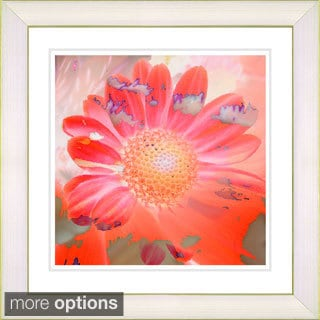 Studio Works Modern 'Daisy Bloom' Framed Print