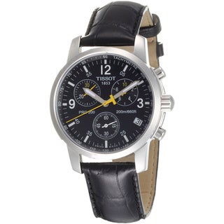 Tissot Men's Stainless Steel PRC-200 Chronograph Watch