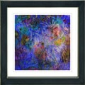 Studio Works Modern 'Reverie - Purple Blue' Framed Print