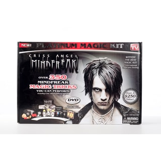 Criss Angel Platinum Magic Kit Over 350 Mind Freak Tricks (Pack of 1)