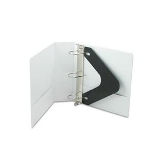 Wilson Jones White Basic D-Ring Vinyl View 3-inch Binder (Pack of 6)