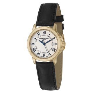 Raymond Weil Women's Yellow Gold Steel 'Tradition' Watch