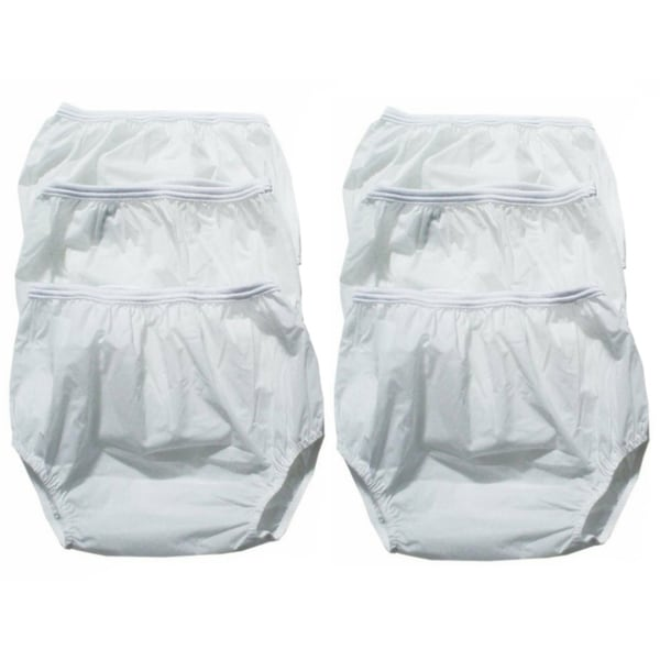 American Baby Company Dappi Waterproof Vinyl Diaper Pants (Pack of 6)