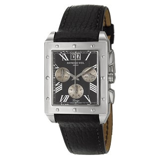 Raymond Weil Men's Stainless Steel 'Tango' Watch