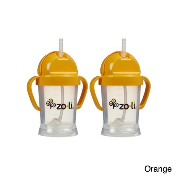 Zoli Baby BOT 6-ounce Straw Sippy Cup (Pack of 2) 10499190