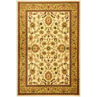 Sultan Oriental Floral Ivory Area Rug (5'3 x 7'3)