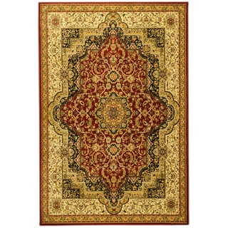 Burgundy living room 5x8 6x9 rugs overstock shopping for Living room rugs 6x9