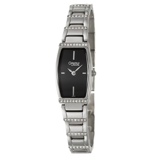 Caravelle by Bulova Women's 43T17 Stainless Steel Crystal Watch