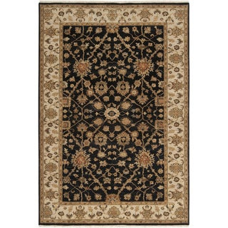 Hand-knotted Misset Caviar New Zealand Wool Rug (5' 6 x 8' 6)
