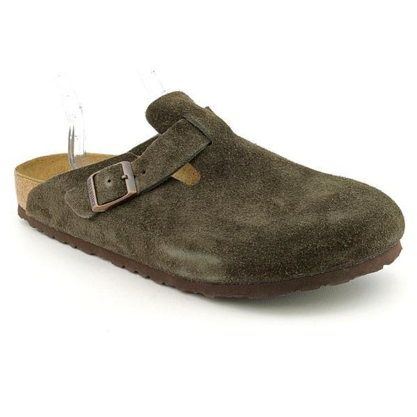 Birkenstock Women's 'Boston' Regular Suede Casual Shoes - Narrow (Size 11)