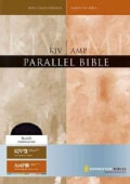 The King James Version, Amplified Parallel Bible: Red Letter Black Bonded Leather (Paperback)