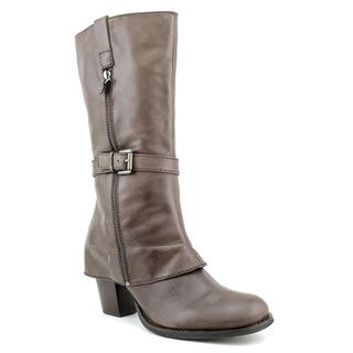 Biviel Women's 'BV2813' Leather Boots (Size 11)