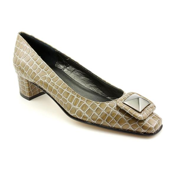 Renzo Fontanelli Women's 'Queen' Patent Leather Casual Shoes - Extra Narrow
