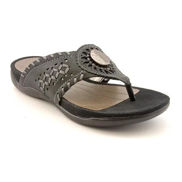 Array Women's 'Moki' Leather Sandals - Wide (Size 7.5)