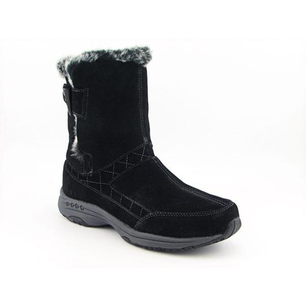 Easy Spirit Women's 'Testrun' Regular Suede Boots - Wide (Size 11)