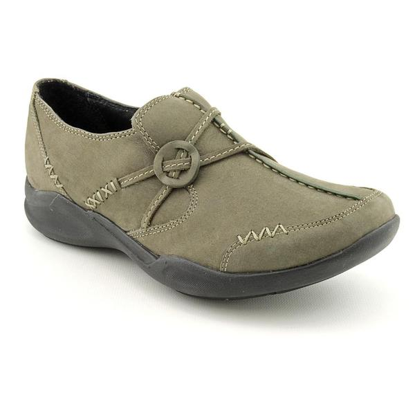 Clarks Wave Women's 'Wave Run' Leather Casual Shoes (Size 6)
