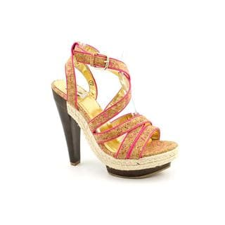 Miss Me? Women's 'Rachel' Man-Made Sandals (Size 7.5)