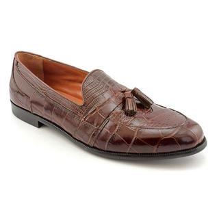 Stacy Adams Men's 'Sabola' Animal Print Dress Shoes (Size 9.5)