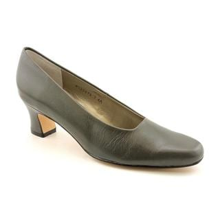 Ros Hommerson Women's 'Vicki' Leather Dress Shoes - Narrow (Size 7)