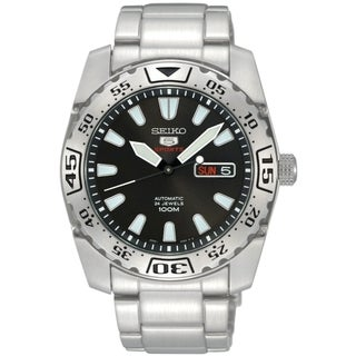 Seiko SRP165K1 Automatic Black Watch