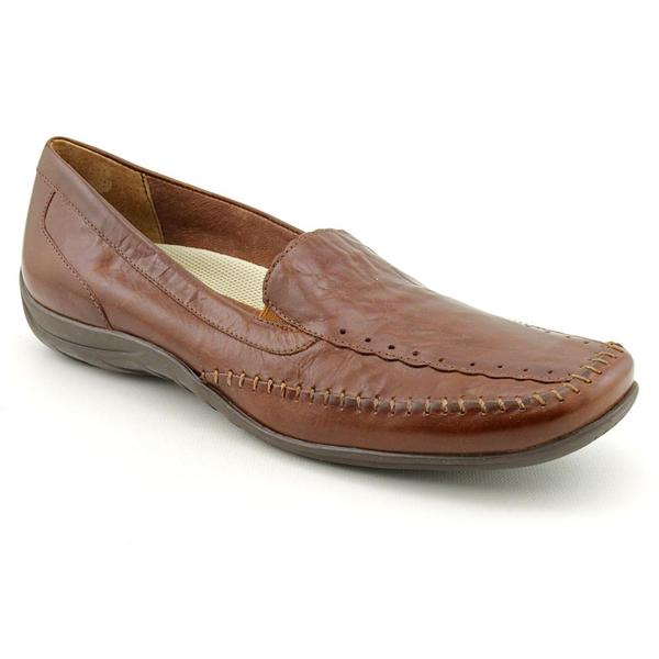 Elites by Walking Cradles Women's 'Tippy' Leather Casual Shoes - Narrow (Size 9.5)