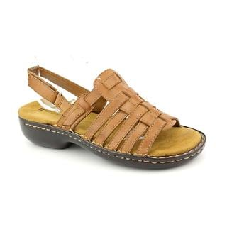 Naturalizer Women's 'Pompano' Leather Sandals (Size 5)