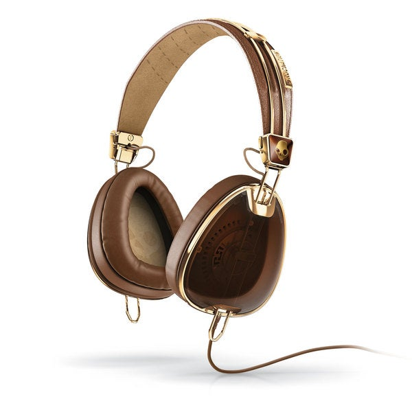 Skullcandy Aviator - Brown Gold w/Mic