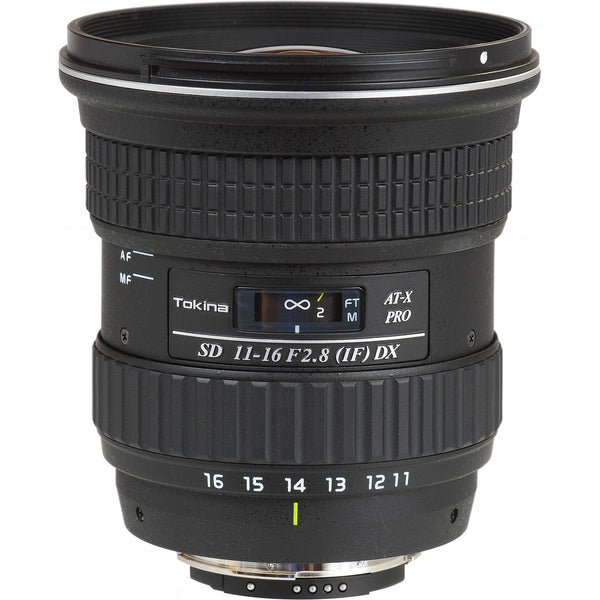Tokina 11-16mm f/2.8 AT-X 116 Pro DX Zoom Lens
